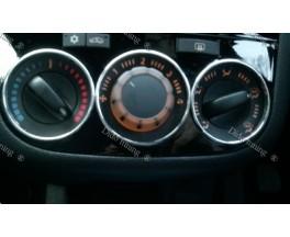 Кольца на ручки печки Opel Corsa (06-...)