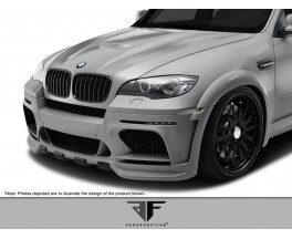 Обвес BMW X5 E70 Hamann Wide-body Central exhaut