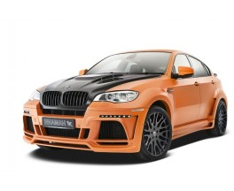 Обвес BMW X6 E71 в X6M Hamann Model 2 Wide-body Central exhaut