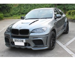 Обвес BMW X6 E71 в X6M Hamann Wide-body Central exhaut