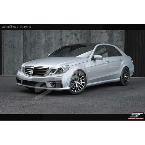 накладки на пороги Mercedes E-klass W212