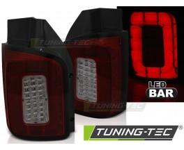 LED фонари задние Volkswagen T6 красно-тонированные