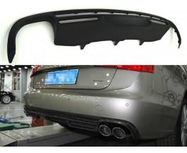 Юбка / диффузор в задний бампер Audi A6 C7 Sedan / Avant