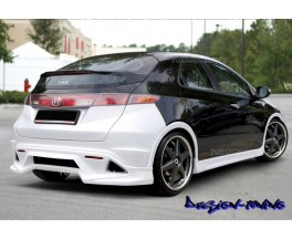 Бампер задний Honda Civic V3