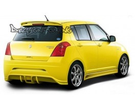 Бампер задний Suzuki Swift (05.2005-...)